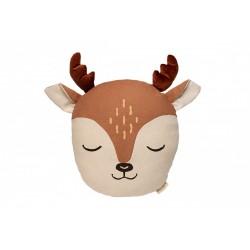 Deer Cushion - Sienna Brown