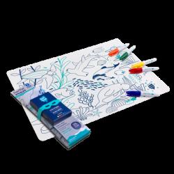 Coloring placemat set -...