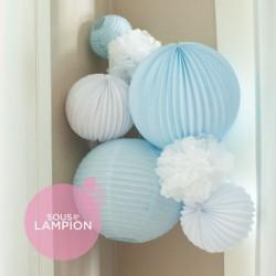 Paper Lanterns kit - Louis