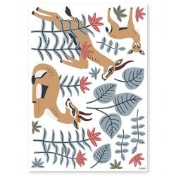 Stickers Sheet - The Gazelles